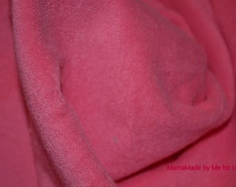 CORAL PINK TERRY CLOTH