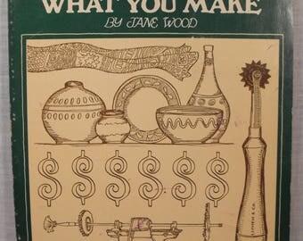Vendre ce que vous faites par Jane Wood. Vente aux magasins acheteurs Art foires grossistes prix présentant factures tenue V1973