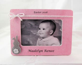 Easter gifts for baby etsy baby first easter gift easter frame negle Images