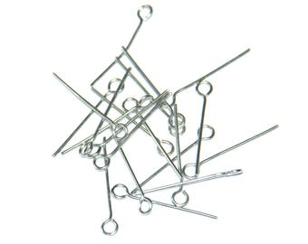 20 eyelet steel rods stainless 22mm