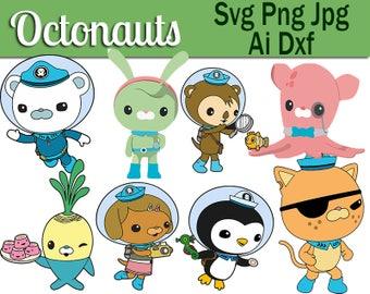 Octonauts svg,Octonauts Dxf,Octonauts ,Octonauts ai,Octonauts png,Octonauts shirts,Octonauts cricut,Octonauts cut out,Octonauts vinyl,