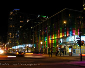 Palais des congrès by night - Fine Art Photography