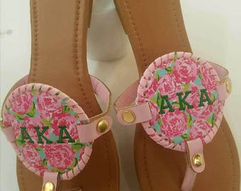 Tea Rose Flip Flop Sandal