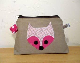 Cosmetic beige pink Fox