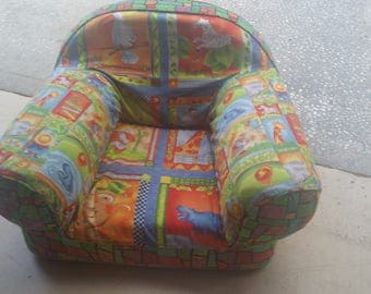 Custom children's chair - you select the theme and colors