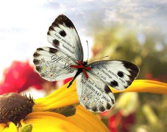 3D Butterfly Marketing, Hand Cut, Leaflets, Business cards, Business Literature, Advertising, Business Sales, Butterflies