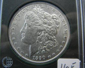 1890 Morgan Dollar - MS Details