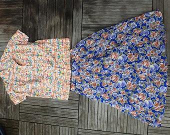 vintage skirt/shirt
