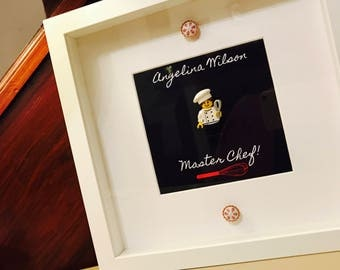 Chef Gift - Personalised Lego® Frame!
