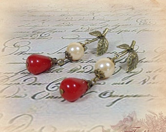 "Earrings ""Lady Constance"""