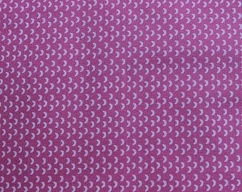 Coupon printed with Scandinavian pattern pink 50 cm x 50 cm