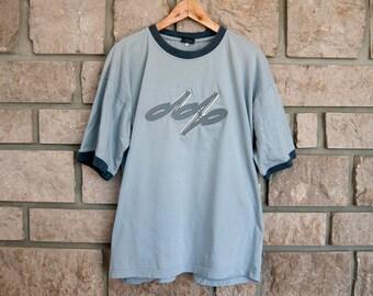 Vintage tee shirt - Skater tshirt - Mens tshirt - Skater tshirt - Cotton shirt - 90s tshirt - blue tshirt - Graphic tshirt - 80s tshirt logo