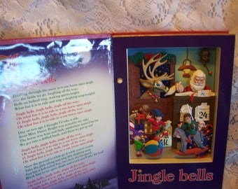 """Animated Musical """"Jingle Bells"""" Book by Mr. Christmas"""
