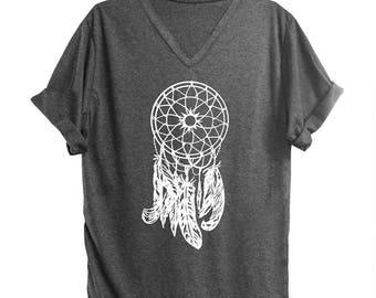 Dream catcher tshirt women tshirt men tshirt fashion shirt workout tops slogan shirt graphic tee women cool top