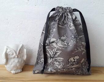 Bag or small XS - Savannah - wool flower