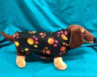 XS Dog Jacket (Pawprints)