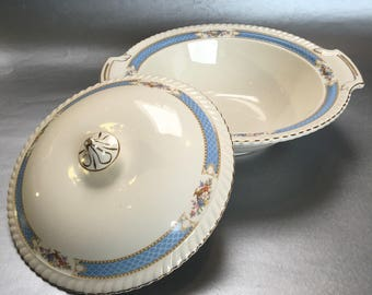 Old English Johnson Brothers England China Casserole or Vegetable Dish