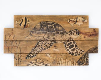 Lake House Wall Art sea turtle decor sea turtle wall art lake house decor rustic