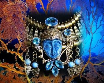 Neo baroque - Ocean goddess necklace