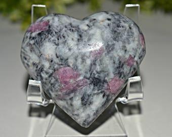 Tourmaline Heart 59 MM