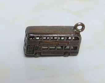 Vintage Double Decker Bus Charm