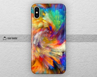 Abstract -iphone x case tough iphone x case colorful iphone x case iPhone 7 case iphone 7 plus case iphone 8 plus case iphone 8 case