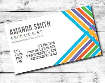 Rodan+Fields Business Card  | Digital File | Customizable