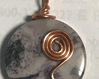 Copper wrapped round genstine