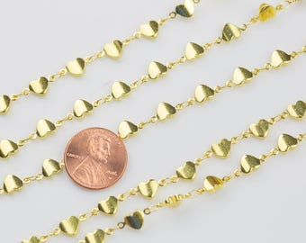 Heart Chain Brass. By THE YARD
