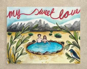 My sweet love card