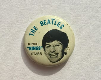 RESERVED FOR ED - Beatles pin Ringo Starr