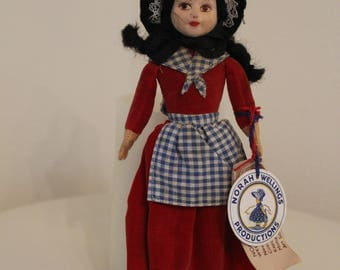 "Norah Wellings- 8"" hand made in England,high quality  in good condition,sweet girl from Wales"