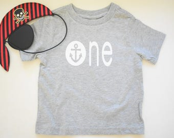 Nautical One Year Old Tshirt