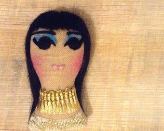 Cleopatra Elizabeth Taylor Icon Brooch