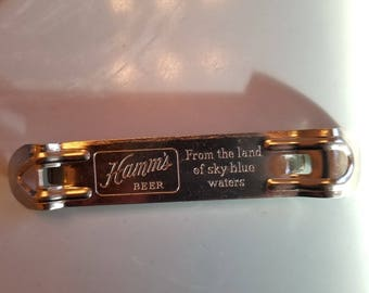 Vintage Hamms Beer Bottle Opener ( like new ) listing 2