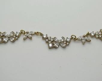 Flower Burst Gold Necklace