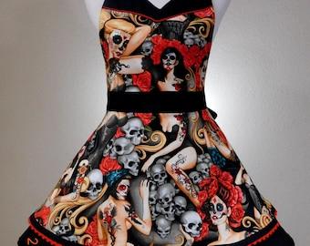 Alexander Henry's Las Elegantes apron