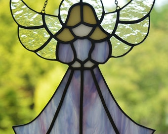 Angel  - Stained Glass Suncatcher
