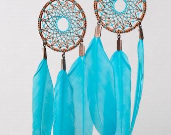 """Earrings dreamcatchers """"Egypt"""""""
