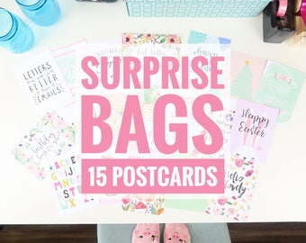Surprise Bag of 15 Postcards