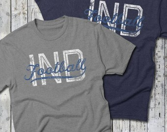 IND Football T-shirt -- Indianapolis Colts, Indianapolis Football -- Believe In Blue TEE