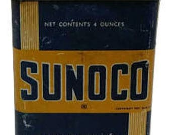 sunoco household antique oil can