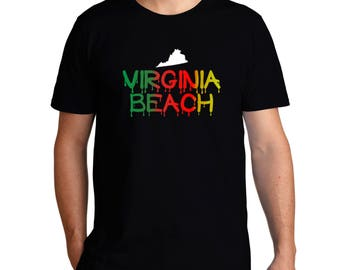 Dripping Virginia Beach T-Shirt