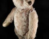 Original Steiff, antique / Vintage Original Steiff Teddy, Steiff Teddy, 1950s, mohair teddy, 32cm / 12.5, rare teddy, Germany teddy