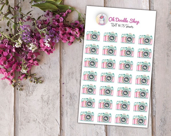 Camara Planner Stickers | 2 Dollar Tuesday