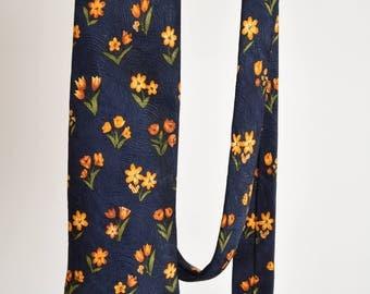 RARE Vintage Cerruti 1881 Silk Tie Made in France 90's (2582)
