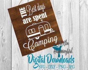 Camping Svg File, Camper Files, Camper Cut Files, Camping Cut Files, Camper SVG Files, Cricut Cut Files, Silhouette Files, Cricut SVG, PNG