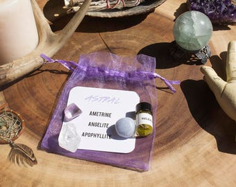 Astral Crystal Kit - Astral Travel & Projection
