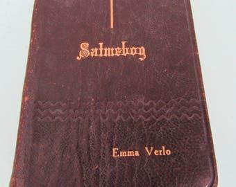 Vintage Salmebog Norwegian Psalm Book Lutheran 1903 Free Shipping