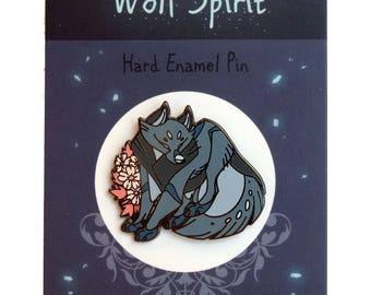 Wolf Spirit Hard Enamel Pin